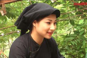 Theo chân thiếu nữ Lạng Sơn xinh đẹp lên vách núi cheo leo hái na