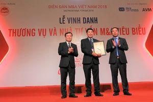 HDBank được vinh danh doanh nghiệp có chiến lược M&A tiêu biểu nhất của thập kỷ