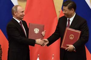 Vai trò Trung Quốc trong giúp Nga 'đấu' lại trừng phạt từ Mỹ