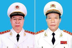 Hai Thứ trưởng Bộ Công an được bổ nhiệm Thủ trưởng CQĐT
