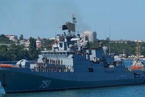 Tàu chiến Nga theo dõi tàu ngầm Mỹ lấy thông số kỹ thuật