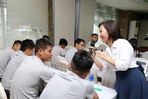 CLB TP.HCM được tư vấn dinh dưỡng trong khuôn khổ V-League