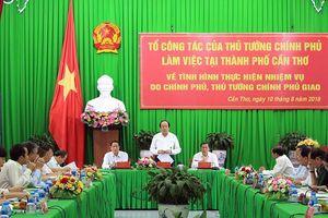 Tổ công tác của Thủ tướng Chính phủ làm việc tại thành phố Cần Thơ