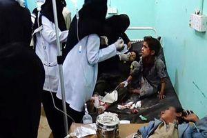Hàng chục trẻ Yemen chết thảm sau khi trúng tên lửa Ả-rập Xê-út