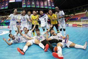 Thái Sơn Nam tiếp tục tạo địa chấn, đi vào lịch sử futsal châu Á