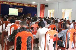 BĐBP An Giang tuyên truyền, phổ biến pháp luật cho đồng bào dân tộc Khmer