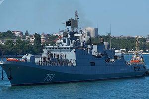 Tàu khu trục Nga phát hiện một tàu ngầm Mỹ bám đuôi ở Địa Trung Hải