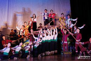 Nghệ An mang nhiều tiết mục dân ca tham dự Hội diễn chuyên nghiệp toàn quốc