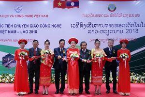 Việt Nam - Lào tăng cường hợp tác, xúc tiến chuyển giao công nghệ