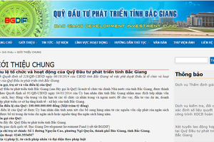 Quỹ Đầu tư phát triển tỉnh Bắc Giang đã 'hỗ trợ' thế nào cho Công ty Tân Thịnh ?