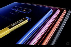 Trên tay nhanh Galaxy Note 9: Siêu phẩm hay bom xịt?