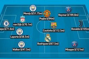 Thấy gì qua đội hình đắt giá nhất thế giới chạm mốc 999 triệu bảng?