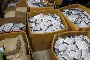 Tạm giữ hơn 2.000 gói thuốc không rõ nguồn gốc của cơ sở bán thuốc Bà Đại