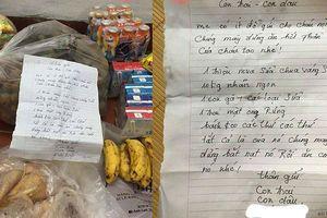 Bức thư 'dằn mặt' của bà nội khi gửi đồ lên cho vợ chồng trẻ khiến dân tình thích thú