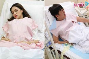 Trấn Thành bật khóc sau khi sinh con, Hương Giang cố gắng 'vượt cạn'vì lo sợ em bé 'mũi tẹt' không có tiền làm mũi
