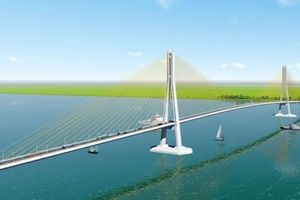 Đầu tư 8.040 tỷ đồng xây dựng cầu Đại Ngãi trên Quốc lộ 60 nối Trà Vinh và Sóc Trăng