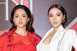 Hoa hậu Kỳ Duyên, Hương Giang gây tranh cãi khi làm huấn luyện viên cuộc thi siêu mẫu
