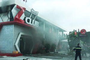 Nhiều người thoát chết khi quán bar bị cháy