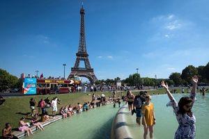 Châu Âu nắng nóng kỷ lục: Tuần lộc đi bơi, tài xế mặc váy lái xe