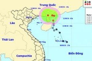 Áp thấp nhiệt đới hướng vào Việt Nam, Bắc Bộ và Bắc Trung Bộ sẽ có mưa lớn