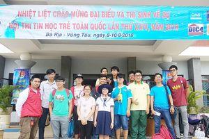 TPHCM về nhì toàn đoàn Hội thi Tin học trẻ toàn quốc
