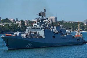 Tàu chiến Nga phát hiện tàu ngầm hạt nhân Mỹ 'lén lút' dưới biển