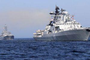 Hai tàu chiến Nga tiến vào Địa Trung Hải