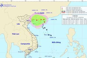 Sau 24 giờ nữa, áp thấp nhiệt đới có khả năng đổi hướng tiến về Việt Nam