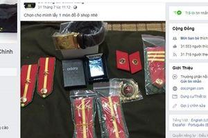 Chuyện ghi ở chợ buôn bán trái phép quân trang