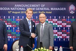 Sốc: Honda làm HLV Campuchia đối đầu tuyển Việt Nam