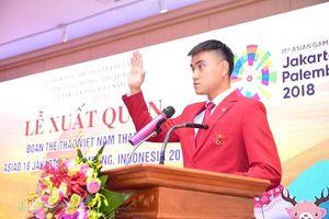 'Hotboy đấu kiếm' sẽ là người cầm cờ đoàn thể thao Việt Nam tại ASIAD 18