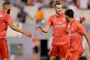 Benzema và Bale giúp Real đánh bại AC Milan