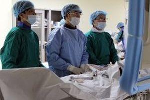 Ðào tạo và chuyển giao kỹ thuật tim mạch cho bệnh viện tuyến dưới