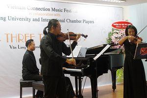 Liên hoan Âm nhạc Vietnam Connection 2018: Nhiều tác phẩm lần đầu tiên được biểu diễn tại Việt Nam