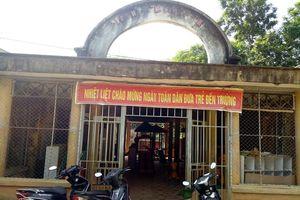 Thanh Hóa: Trường MN Thanh Xuân xuống cấp nặng, tính mạng cô trò bị đe dọa