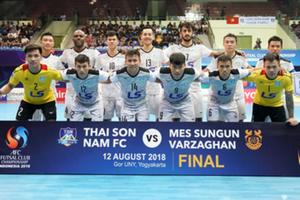 Thái Sơn Nam xuất sắc giành hạng nhì futsal châu Á