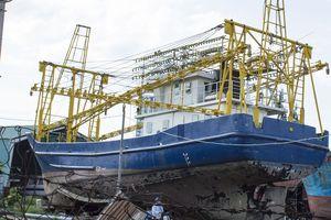 Hơn 1.000 ngày, 'tàu 67' vẫn nằm trên ụ