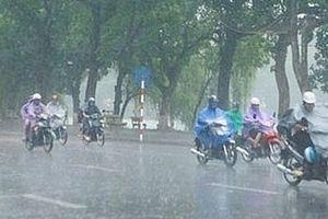 Áp thấp nhiệt đới gây mưa lớn ở Bắc Bộ và Bắc Trung Bộ
