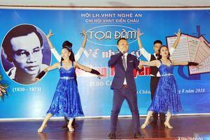Xác định Diễn Châu là quê quán của tác giả ca khúc 'Ai lên xứ hoa đào'