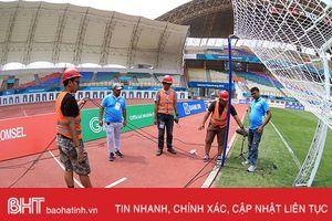 Việt Nam, Nhật Bản cắt cử trinh sát kiểm tra sân thi đấu ASIAD 18