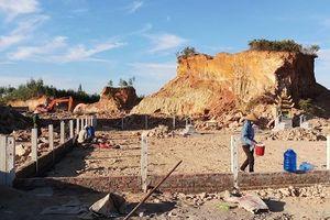 Khai thác đất đe dọa an toàn hàng loạt mồ mả, người dân kêu cứu