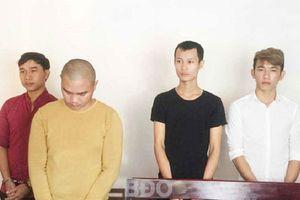 Bắt tạm giam 4 đối tượng hỗn chiến khiến 1 thanh niên tử vong