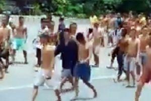 Tiền Giang: Hàng trăm học viên cai nghiện tràn ra quốc lộ gây náo loạn