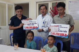 Trao gần 4 tỷ đồng ủng hộ 2 nạn nhân vụ TNGT thảm khốc tại Quảng Nam