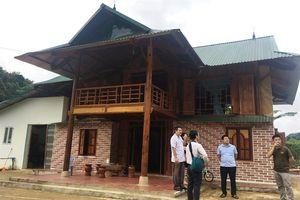 Xã nông thôn mới dưới chân đèo Pha Đin