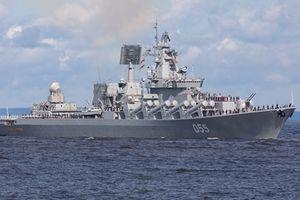 Hai hạm đội Nga hội quân tại Syria
