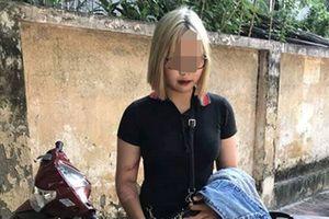 Hotgirl tóc trắng-vàng tông gãy chân cảnh sát còn đăng facebook