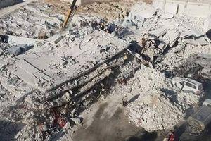 Nổ kho vũ khí ở Idlib, gần trăm người thương vong
