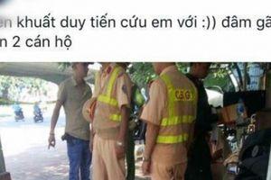 'Thông chốt' không thành, thiếu nữ tông gãy chân cảnh sát cơ động
