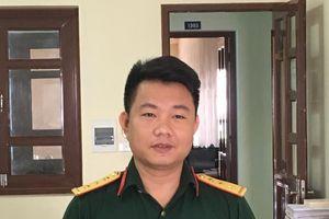 Thượng úy Nguyễn Thanh Hải không tham của rơi